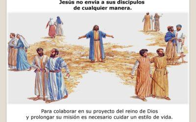 LLAMADO Y MISIÓN DE LOS 12 APÓSTOLES